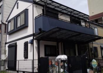 東大阪市 S様邸 外壁・屋根・ベランダ塗装工事
